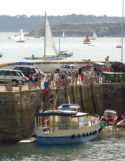Cornwall ferry boat